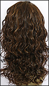 Lace front wig HRH-LACE WIG ONYX, Sister Remy human hair lace wig, color FS4/30