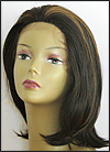 SEPIA Lace Front Wig OMEGA, Heat-Resistant Synthetic Fiber, color FS4/27