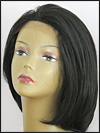 SEPIA Lace Front Wig OMEGA, Heat-Resistant Futura Synthetic Fiber, color 1B
