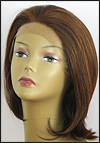 SEPIA Lace Front Wig OMEGA, Heat-Resistant Synthetic Fiber, color P4/27/30