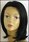 SEPIA Lace Front Wig OMEGA, Heat-Resistant Futura Synthetic Fiber, color #1