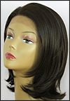 SEPIA Lace Front Wig OMEGA, Heat-Resistant Futura Synthetic Fiber, color #4