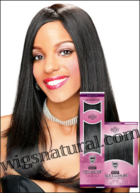 Hollywood Lace Weave System (Lace Weave and Lace Closure), Remy Human Hair, in stock