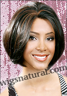 "Lace Front Wig, BOBBI BOSS Premium Fiber Hair, style Lace Front Brown, sale <font color = ""#660000"">($29.99) </font color = ""#660000"">"