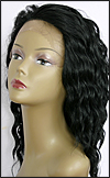 Lace Front Wig, BOBBI BOSS Front Lace Wig Olive, Premium Fiber Hair, color #1