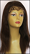 Lace Front Wig HRH-LACE WIG BRAZILIAN, Hollywood Remy Human Hair wig, color #4