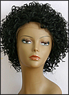 Lace Front Wig, BOBBI BOSS Front Lace wig Mura, Premium Fiber Hair, color #1