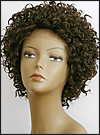 Lace Front Wig, BOBBI BOSS Front Lace wig Mura, Premium Fiber Hair, color #4