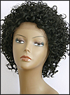 Lace Front Wig, BOBBI BOSS Front Lace wig Mura, Premium Fiber Hair, color 1B
