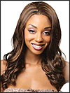 Lace front wig, Zury Human hair blend wig, wig style HQ-Lace Wig Lydia