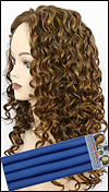 "Medium Curl Hair Style - permed by 1"" (2.5 cm) diameter rod"
