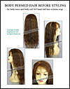 Body Perm Hair - before Styling Body Wave and Body Curl Hair Styles