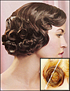 Popular Hairstyle in the 1920s and early 1930s - with Pin Curls