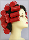 "Large Waves Hair Setting - with 1 ½"" Caruso Jumbo Steam Rollers and 1 ¼"" Large Steam Rollers"