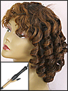 "Classical Spiral Curl Style - with 3/4"" Barrel (2.0 cm diameter) Curly Iron"