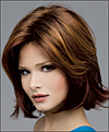 Envy mono top with lace front wig Taylor, (color shown cinnamon raisin)