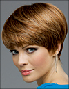 Envy mono top wig JoAnne, (color shown creamed coffee)