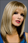 Envy mono top wig Madison (color shown ginger cream)