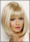 Petite cap Envy mono part wig Petite Paige (color shown light blonde)