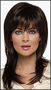 "Envy open top wig Sasha (color shown dark brown) <font color = ""#660000"">($54.50) </font color = ""#660000"">"