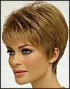"Envy open top wig Tiffany (color shown light brown) <font color = ""#660000"">(sales price $59.00) </font color = ""#660000"">"