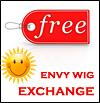Free Exchange for Envy Wigs - no restocking fee, no handling fee