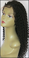 Origins Wig Deep Curl, Indian Remy human hair, lace front wig