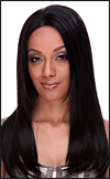 Human hair blend lace front wig HBL-CAROLINE (HB LACE CHARITY), SEPIA Love it wig collection