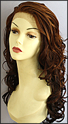 "Lace Front Wig Dolled Up, Flaunt Wig Collection <font color = ""#660000"">(sales $44.99) </font color = ""#660000"">"