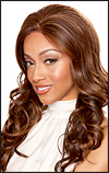 SEPIA Lace Front Wig SOFIA, Heat-Resistant Synthetic Fiber, in stock