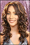 "Lace Front Wig, BOBBI BOSS Premium Fiber Hair, style Lace Front Blue, sale <font color = ""#660000"">($29.99) </font color = ""#660000"">"