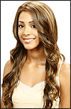 Monofilament wig, BOBBI BOSS Lace mono top wig Shasha, Heat-proof Synthetic hair wig