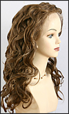 Lace Front Wig HRH-LACE WIG SUGAR, Hollywood Remy hair wig, color #4