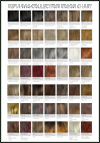 SEPIA Wig Collection Color Chart