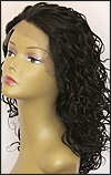 Sister Lace Front Wig HRH-LACE WIG ASHANTI, Remy human hair wig, color 1B