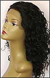 Sister Lace Front Wig HRH-LACE WIG ASHANTI, Remy human hair wig, color #1