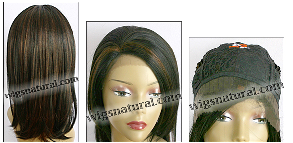 Lace Front Wig, BOBBI BOSS Front Lace wig Suti, Premium Fiber Hair, color F1B/30