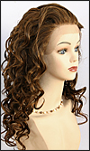 Lace Front Wig HRH-LACE WIG PARIS, Hollywood Remy hair wig, color F4/30