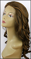 Lace front wig, Zury Human hair blend wig, style HQ-Lace Wig Lydia, color F1B/30