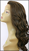 Lace front wig, Zury Human hair blend wig, style HQ-Lace Wig Lydia, color #4