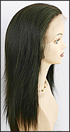 Lace Front Weave, REMY Human Hair, Hollywood brand, style REMY-LFW-KIMORA, color 1B