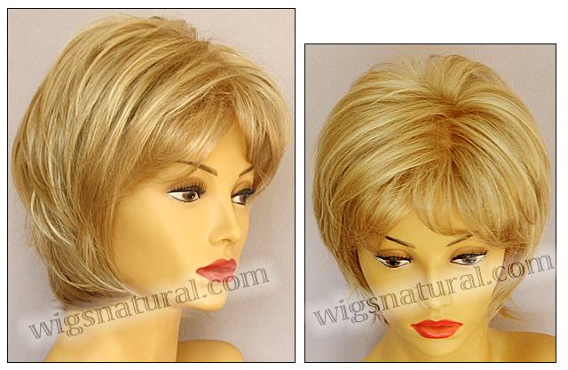 Envy mono top wig Kellie, color shown medium blonde