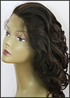 Lace Front Weave, Human Hair, Zury brand, wig style ULTRA LFW U-CANDY, color F1B/33