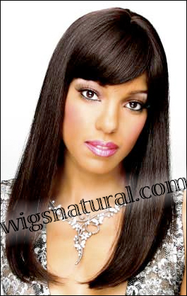 Monofilament wig, Remy hair, style HR-REMY Blanca, Hollywood mono wigs