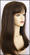 Monofilament wig, Remy hair HR-REMY Blanca, color #4, Hollywood mono wigs
