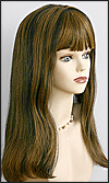 Monofilament wig, Remy hair HR-REMY Blanca, color F1B/30, Hollywood mono wigs