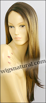 Monofilament wig, BOBBI BOSS Lace mono top wig Sutra, Heat-proof Synthetic hair, color 3T317