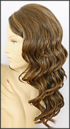 Monofilament wig, BOBBI BOSS Lace mono top wig Stella, Heat-proof Synthetic hair, color #4327