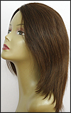 Monofilament wig, Remy hair HR-REMY EVA, color #4, Hollywood mono wigs