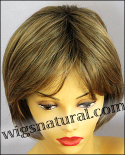 Envy open top wig Sheila, color shown toasted sesame